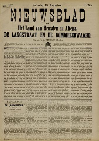 Nieuwsblad het land van Heusden en Altena de Langstraat en de Bommelerwaard 1883-08-18