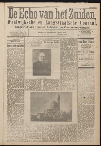 Echo van het Zuiden 1925-11-11