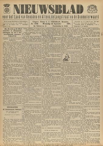 Nieuwsblad het land van Heusden en Altena de Langstraat en de Bommelerwaard 1927-09-14