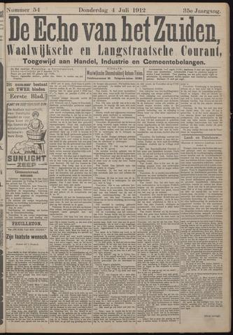 Echo van het Zuiden 1912-07-04
