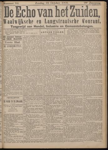 Echo van het Zuiden 1905-10-22