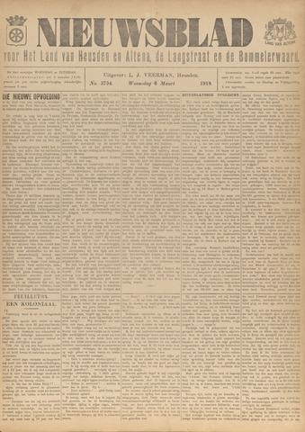 Nieuwsblad het land van Heusden en Altena de Langstraat en de Bommelerwaard 1918-03-06