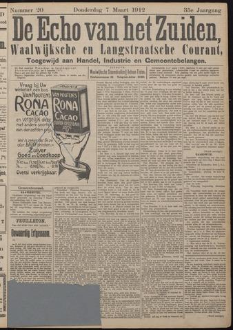 Echo van het Zuiden 1912-03-07
