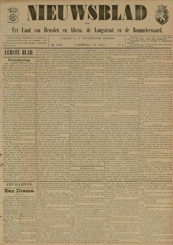 Nieuwsblad het land van Heusden en Altena de Langstraat en de Bommelerwaard 1894-08-18