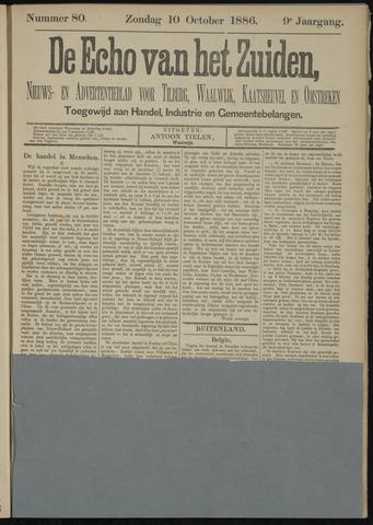 Echo van het Zuiden 1886-10-10
