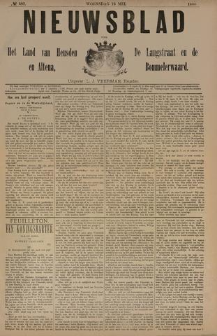 Nieuwsblad het land van Heusden en Altena de Langstraat en de Bommelerwaard 1888-05-16