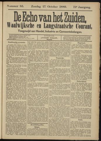 Echo van het Zuiden 1889-10-27