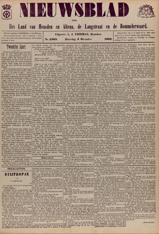 Nieuwsblad het land van Heusden en Altena de Langstraat en de Bommelerwaard 1909-12-04