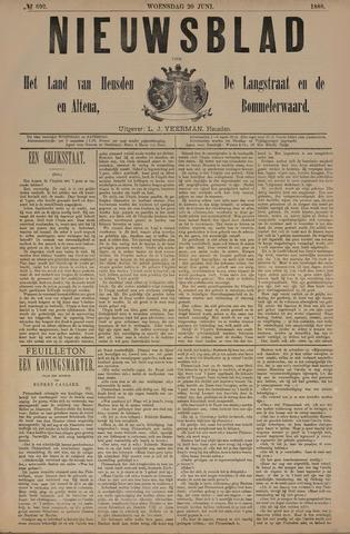 Nieuwsblad het land van Heusden en Altena de Langstraat en de Bommelerwaard 1888-06-20