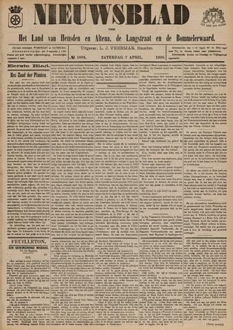 Nieuwsblad het land van Heusden en Altena de Langstraat en de Bommelerwaard 1900-04-07