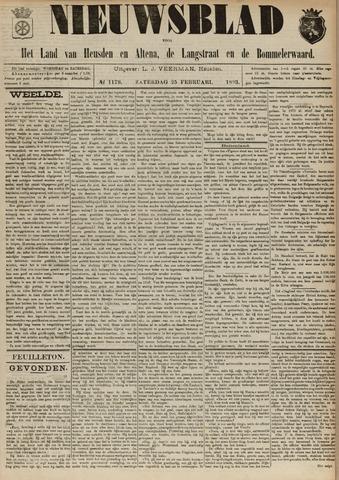 Nieuwsblad het land van Heusden en Altena de Langstraat en de Bommelerwaard 1893-02-25