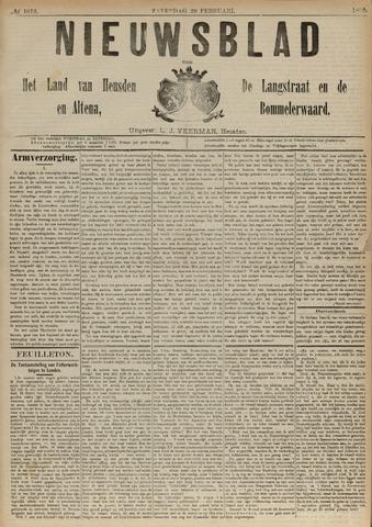 Nieuwsblad het land van Heusden en Altena de Langstraat en de Bommelerwaard 1892-02-20