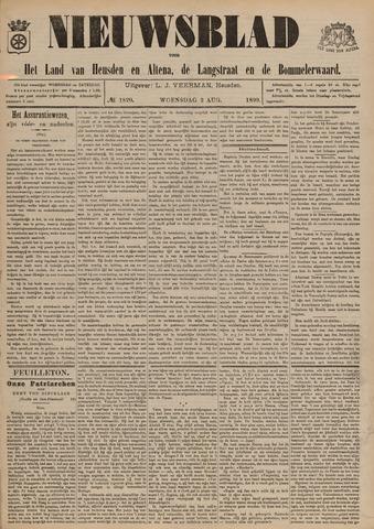 Nieuwsblad het land van Heusden en Altena de Langstraat en de Bommelerwaard 1899-08-02