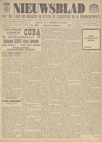 Nieuwsblad het land van Heusden en Altena de Langstraat en de Bommelerwaard 1917-08-04