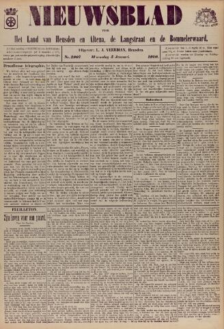 Nieuwsblad het land van Heusden en Altena de Langstraat en de Bommelerwaard 1910-01-05