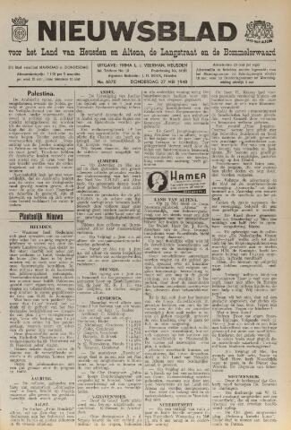Nieuwsblad het land van Heusden en Altena de Langstraat en de Bommelerwaard 1948-05-27