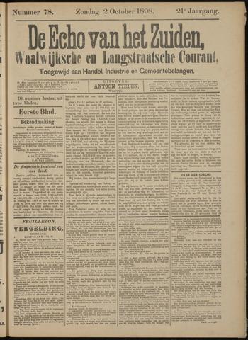 Echo van het Zuiden 1898-10-02