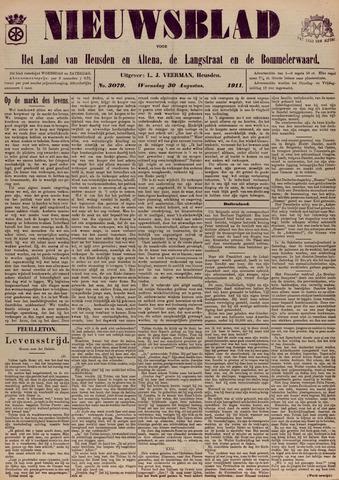 Nieuwsblad het land van Heusden en Altena de Langstraat en de Bommelerwaard 1911-08-30