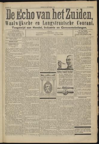 Echo van het Zuiden 1924-09-27