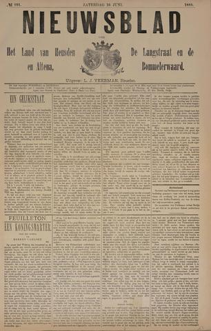 Nieuwsblad het land van Heusden en Altena de Langstraat en de Bommelerwaard 1888-06-16