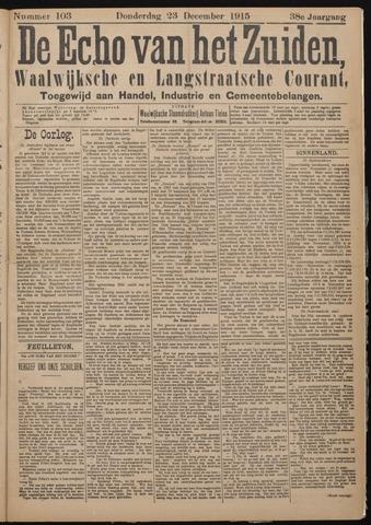 Echo van het Zuiden 1915-12-23
