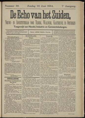 Echo van het Zuiden 1884-06-22