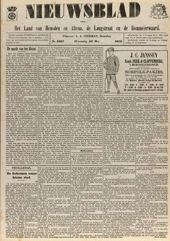 Nieuwsblad het land van Heusden en Altena de Langstraat en de Bommelerwaard 1913-05-28