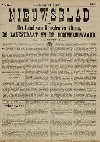 Nieuwsblad het land van Heusden en Altena de Langstraat en de Bommelerwaard 1883-03-14