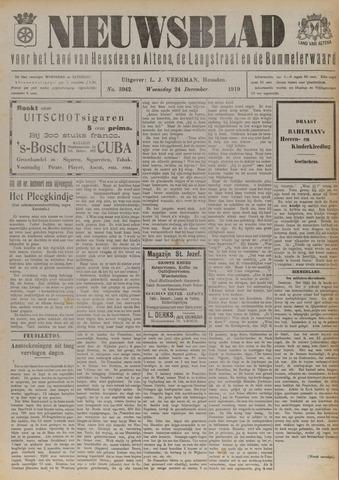 Nieuwsblad het land van Heusden en Altena de Langstraat en de Bommelerwaard 1919-12-24