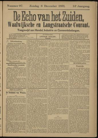 Echo van het Zuiden 1891-12-06
