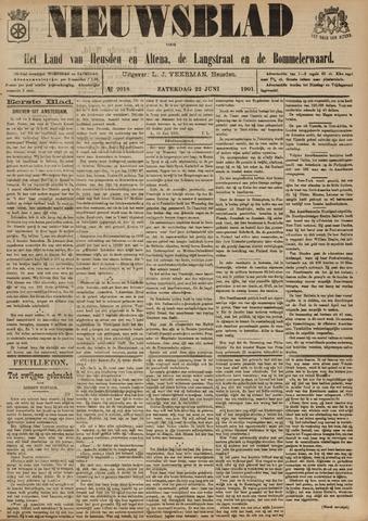 Nieuwsblad het land van Heusden en Altena de Langstraat en de Bommelerwaard 1901-06-22