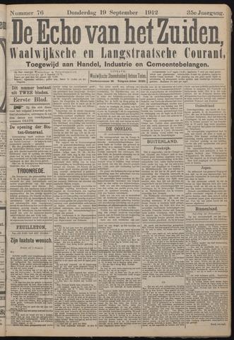 Echo van het Zuiden 1912-09-19