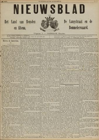 Nieuwsblad het land van Heusden en Altena de Langstraat en de Bommelerwaard 1890-08-20