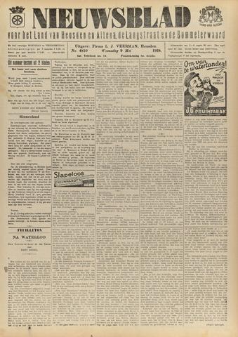 Nieuwsblad het land van Heusden en Altena de Langstraat en de Bommelerwaard 1928-05-09