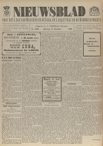 Nieuwsblad het land van Heusden en Altena de Langstraat en de Bommelerwaard 1920-12-11