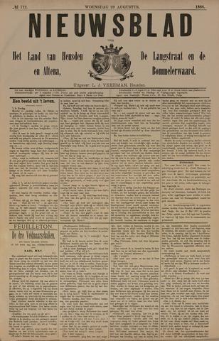 Nieuwsblad het land van Heusden en Altena de Langstraat en de Bommelerwaard 1888-08-29