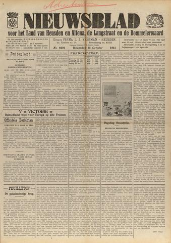 Nieuwsblad het land van Heusden en Altena de Langstraat en de Bommelerwaard 1941-10-15