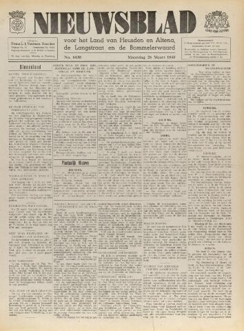 Nieuwsblad het land van Heusden en Altena de Langstraat en de Bommelerwaard 1949-03-28