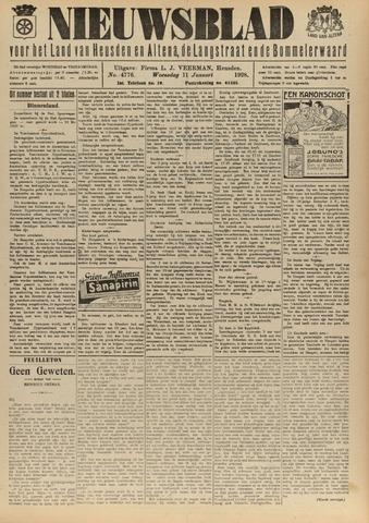 Nieuwsblad het land van Heusden en Altena de Langstraat en de Bommelerwaard 1928-01-11