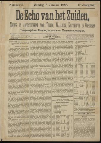 Echo van het Zuiden 1888-01-08