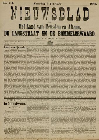 Nieuwsblad het land van Heusden en Altena de Langstraat en de Bommelerwaard 1883-02-03