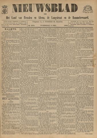 Nieuwsblad het land van Heusden en Altena de Langstraat en de Bommelerwaard 1903-12-09