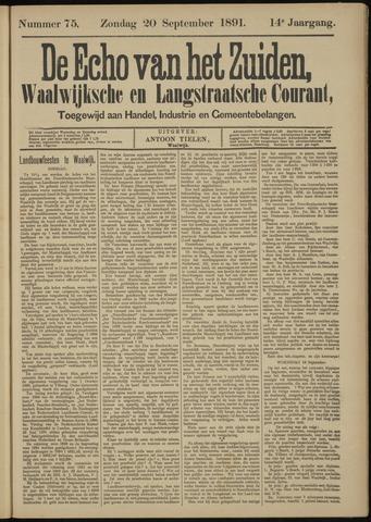 Echo van het Zuiden 1891-09-20