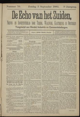 Echo van het Zuiden 1882-09-03