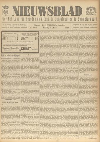 Nieuwsblad het land van Heusden en Altena de Langstraat en de Bommelerwaard 1918-03-02