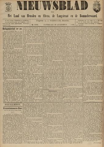 Nieuwsblad het land van Heusden en Altena de Langstraat en de Bommelerwaard 1893-08-26