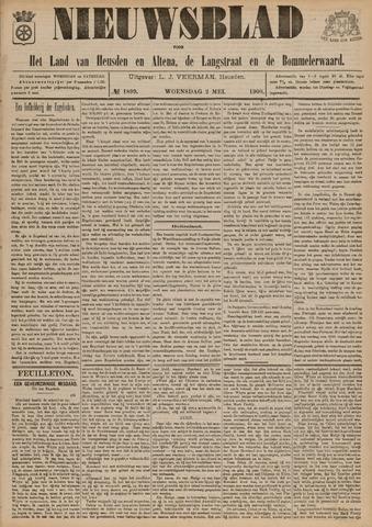 Nieuwsblad het land van Heusden en Altena de Langstraat en de Bommelerwaard 1900-05-02