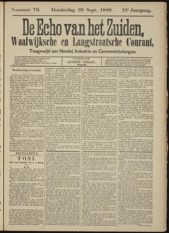 Echo van het Zuiden 1889-09-26