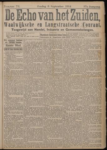 Echo van het Zuiden 1914-09-06