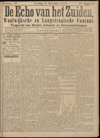 Echo van het Zuiden 1904-12-11